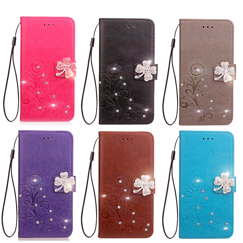 For Coque Oppo A57 Case Leather PU + Soft TPU Silicon Wallet Stand Phone case For Oppo R 57 cover cases Fundas Capa