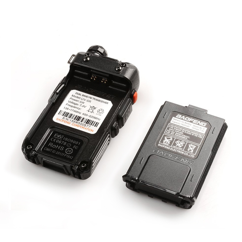 BaoFeng UV-5R Walkie Talkie Dual Band VHF / UHF136-174MHz i - Voki-toki - Foto 5