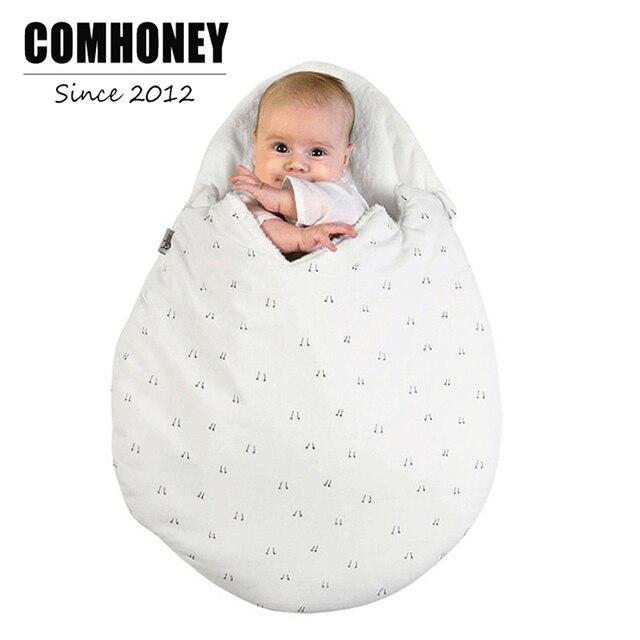 Baby Sleeping Bag For Stroller Bed Sofa Egg Shape Toddler Sleepsack Envelop Newborn Infant Sleep