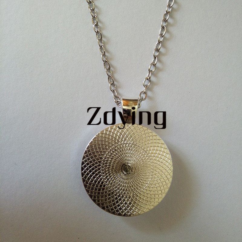 Image 5 - ZDYING Arabic Islamic Muslim Necklace Pendant Glass Dome I Love  Allah Religious Charm Necklaces Choker For Woman Men AL007Pendant  Necklaces