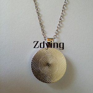 Image 5 - ZDYING Arabic Islamic Muslim Necklace Pendant Glass Dome I Love Allah Religious Charm Necklaces Choker For Woman Men AL007