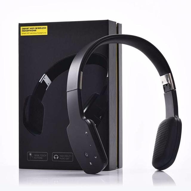 Portátil Inalámbrico Bluetooth V4.1 Auricular Plegable Conveniente Conexión de Manos Libres de Auriculares Auriculares Para Teléfonos Móviles Ordenador