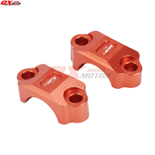 Orange CNC Billet Brake Clutch Control Clamp Fit KTM 65 85 125 200 250 300 350 450 500 525 530 SX SXF XC XCW XCF EXC EXCF EXCR  цена и фото