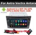 Quad core HD 1024*600 Сенсорный Экран 2 DIN Android 5.1 Автомобильный DVD плеер Для Vauxhall Opel Astra H G J Vectra Antara Zafira Corsa