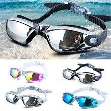 Очки для плавания, водонепроницаемые, для женщин и мужчин, анти-туман, защита от УФ-лучей, очки для плавания, профессиональные, для дайвинга, для плавания, для плавания