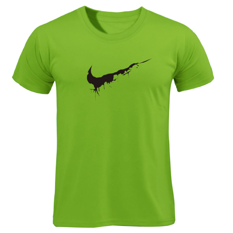 2019 New bodybuilding Tee Animal print tracksuit t shirt muscle shirt Trends in fitness cotton brand clothes for men Tops