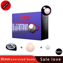OLO Bead Condom 1 10 PCS Ultra Thin Penis Enlargement Intimate Good Sex Products Natural Rubber Latex Sleeve for Men