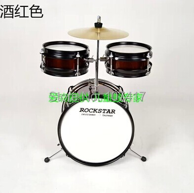 2016 Promotion Time limited 5 128 Baqueta Drum Set Instrumento Musical Genuine Kids Drums Percussion Toys Early Childhood Music