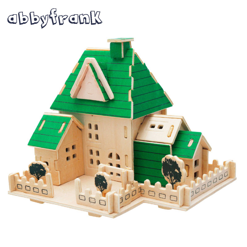 Abbyfrank Puzzle 3D DIY House Wooden Toy Construction DIY Building Model Juguetes Toddler Toy 3D Building House Puzzle Jigsaw zeinab torkaman dehnavi integration in canada of muslim women immigrants from the middle east