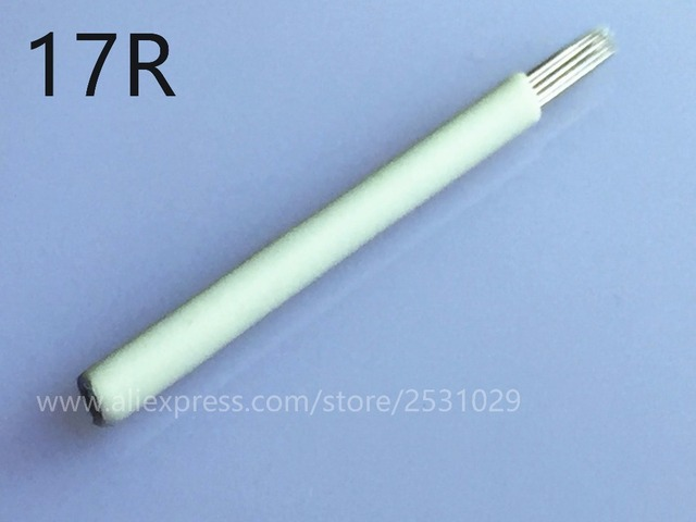 New 17r Needles Tattoo 3d Pen Microblading Suitable For Manual Pen