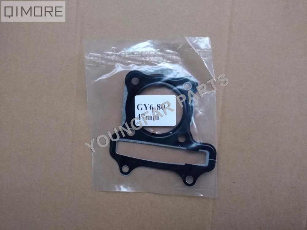 47mm head Gasket & base gasket for 4 stroke 80cc Scooter Moped ATV QUAD 139QMB GY6-80 GY6 80