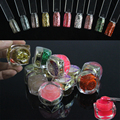 UV Gel Bling Color Set 12 Pot Art French Nails Lac Unhas Ongle Glitter Builder Farbgel Professional Unha Extension Tools 239