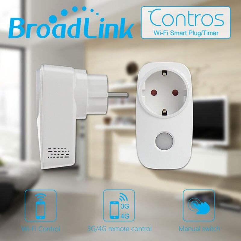 Broadlink SP3 EU Wifi Smart Power Socket,Controls SP Mini  3500W 16A Time Wireless Remote Wall Plug For IOS Andriod Smart Home