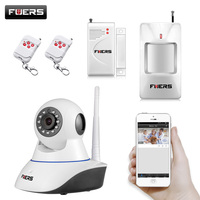 Wireless WIFI IOS Android Control HD Pan Tilt Networok IP Camera With Phone Operate Work With