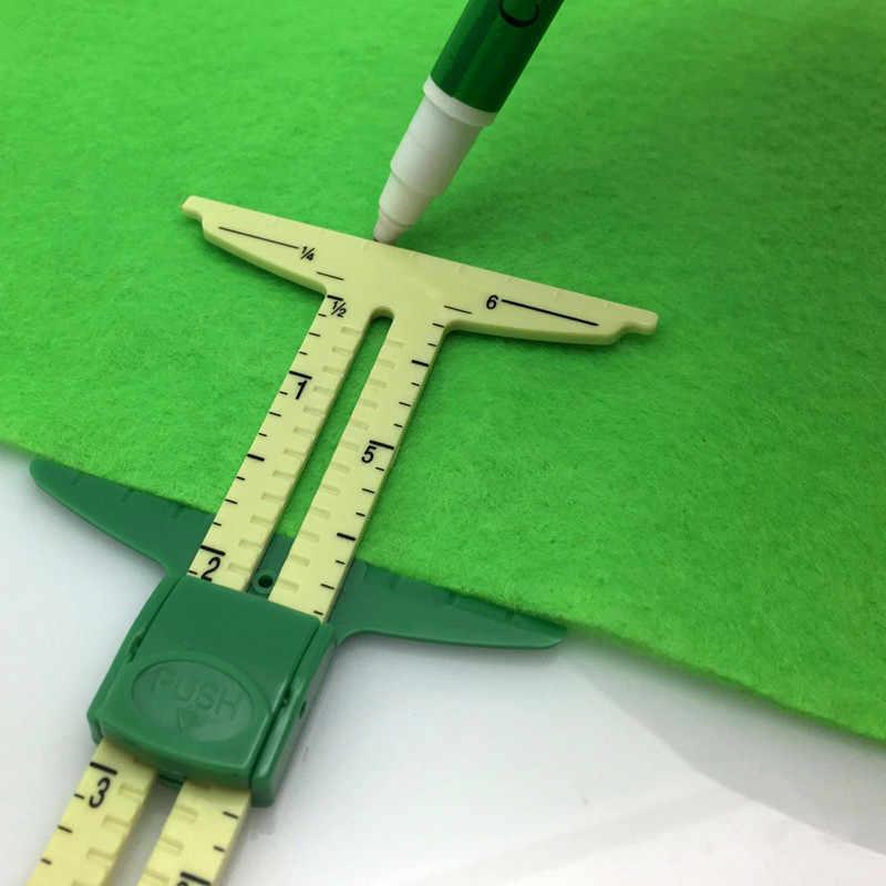 คุณภาพสูง 5-IN-1 เครื่องวัด NANCY วัดเครื่องมือ Patchwork เครื่องมือไม้บรรทัด Tailor ไม้บรรทัดเครื่องมืออุปกรณ์เสริมใช้
