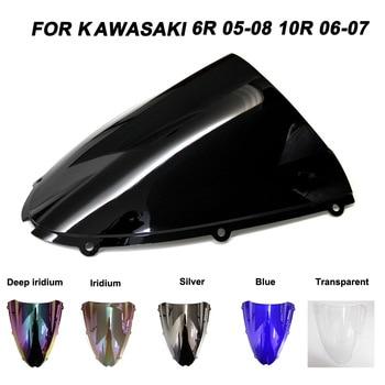 цена на Motorcycle Windscreen Windshield ZX-6R ZX-10R Screws Bolts Accessories For Kawasaki Ninja ZX6R ZX10R 2005 2006 2007 2008