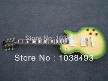 Hersteller machen die beste qualität e-gitarre grünen rand LP können anpassen die ems-freies verschiffen
