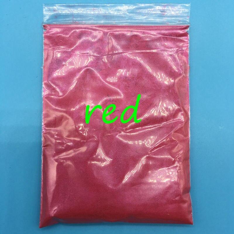 Nails Art & Werkzeuge Heißer Verkauf Roter Farbe Glimmerpulver Perlglanz Tinte Pigment Für Kosmetik Lidschatten Dekoration Material 500 Gr/paket.