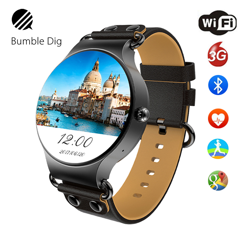 GPS Smart Watch Android 5 1 8GB 512MB Wifi GPS Bluetooth Phone Call Smartwatch Fitness Tracker