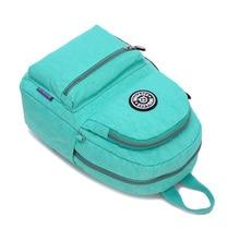 Jinqiaoer женщины рюкзак высокое качество рюкзаки женская рюкзак для девочек-подростков водонепроницаемый нейлон школьные сумки Mochila Feminina
