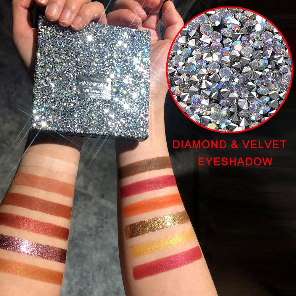 Hot New 12 Colors Eyeshadow Makeup Palette Glitter Matte