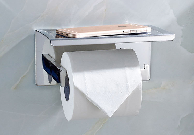 Popular Adhesive Toilet Paper Holder-Buy Cheap Adhesive Toilet ...