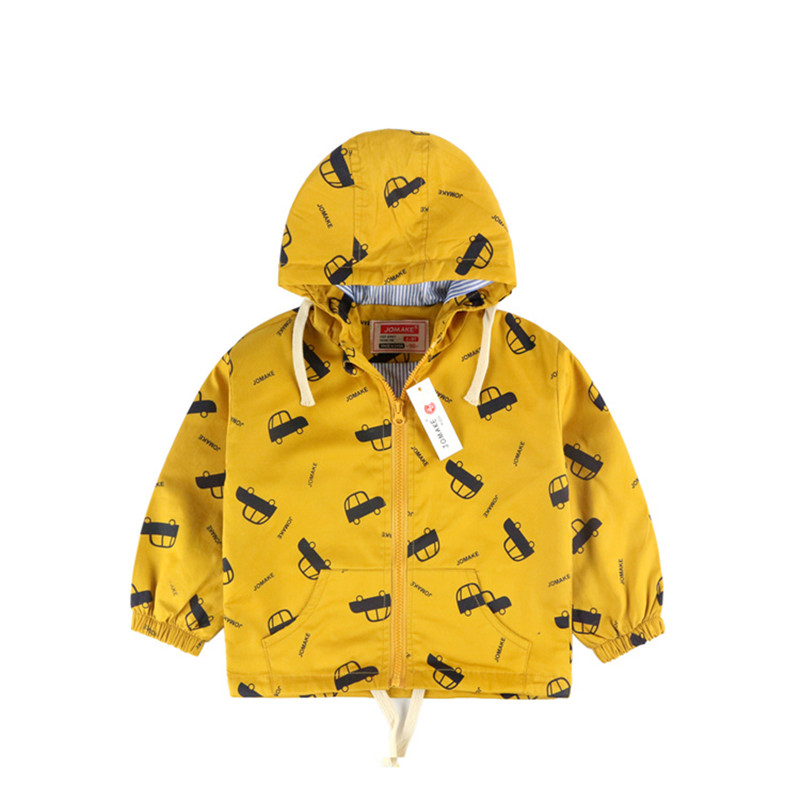 8b6a8c895 Spring/Autumn Baby Boy Jacket New Fashion Cartoon Fish/Car Pattern Kids  Outerwear&Coats Boys