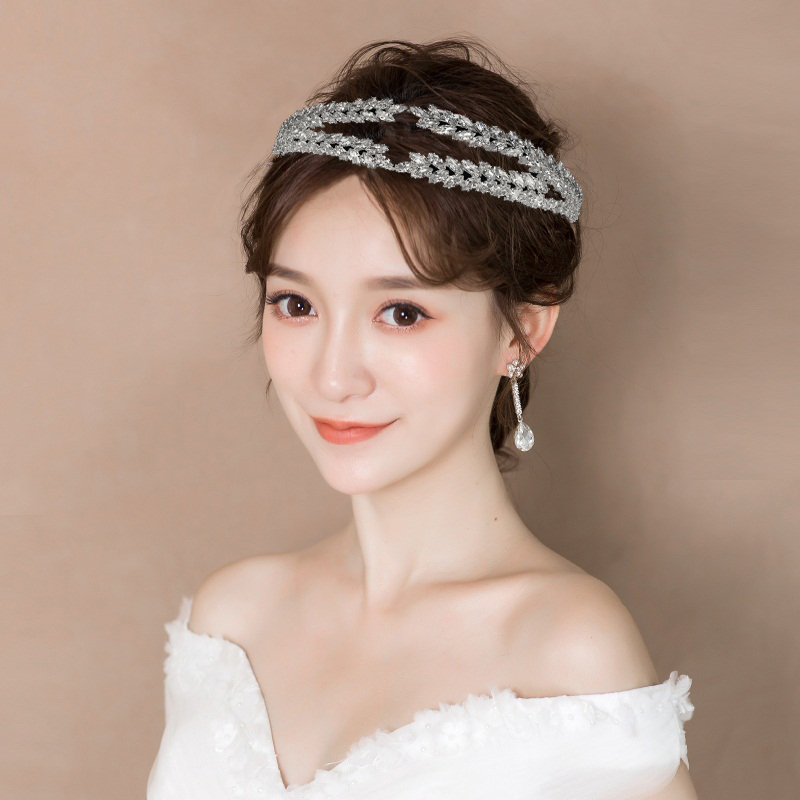 Tiaras And Crowns HADIYANA Simple Lovely Design Elegane Luxury For Women Bridal Hair Accessories BC4720 Haar