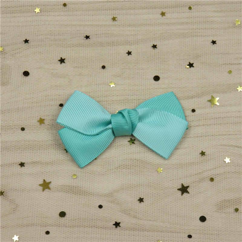 1 шт двухцветные сшивные шпильки бант для девочки богемный головной убор клипсы резинки модные детские аксессуары для волос для женщин 2018