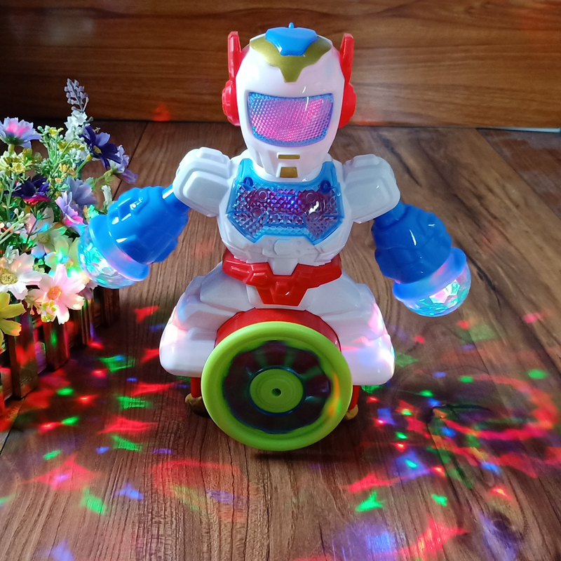New Rotating Smart Space Dance Robot Electronic Walking Toys With Music Light For Kids Astronaut Toy Christmas Birthday Gift