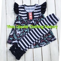 New Cartoon Design Clothes Lovely Summer Baby Clothing Set Hot Sale Girl Outfits