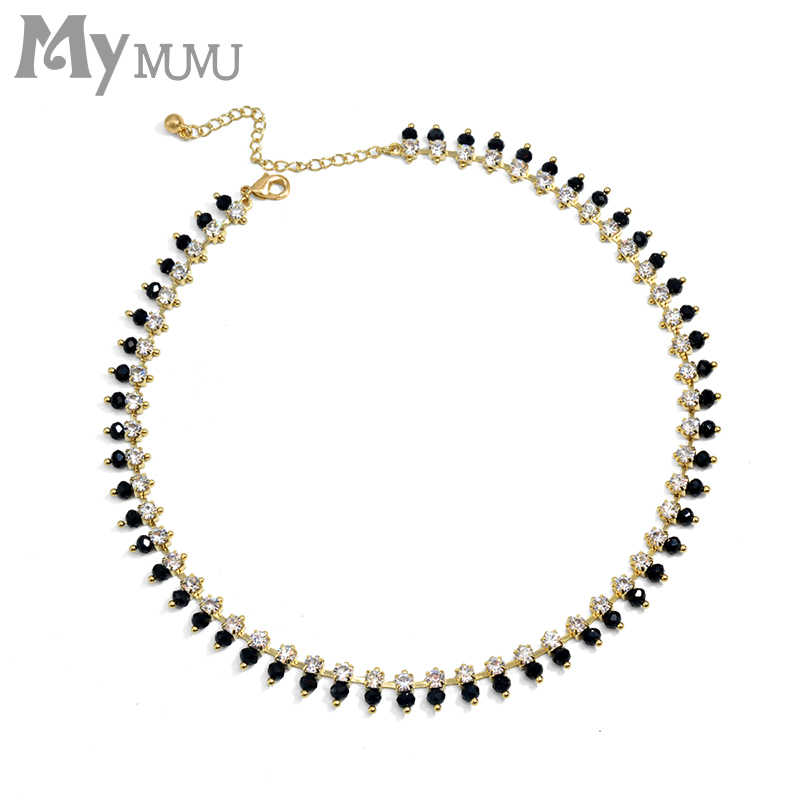 2019 new gold small heart necklaces for women necklaces clavicle fashion jewelry