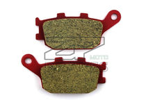 Motorcycle parts Ceramic Brake Pads Fit HONDA VTR 1000 SP2-SP6 2002-2007 CBF 750 2007-2008 Rear OEM Red Composite Free shipping