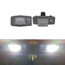 2 шт. авто светодиодный светильник номерного знака для Mazda Miata MX-5 Protege MPV для Ford Escape 01-07 Mercury Mariner