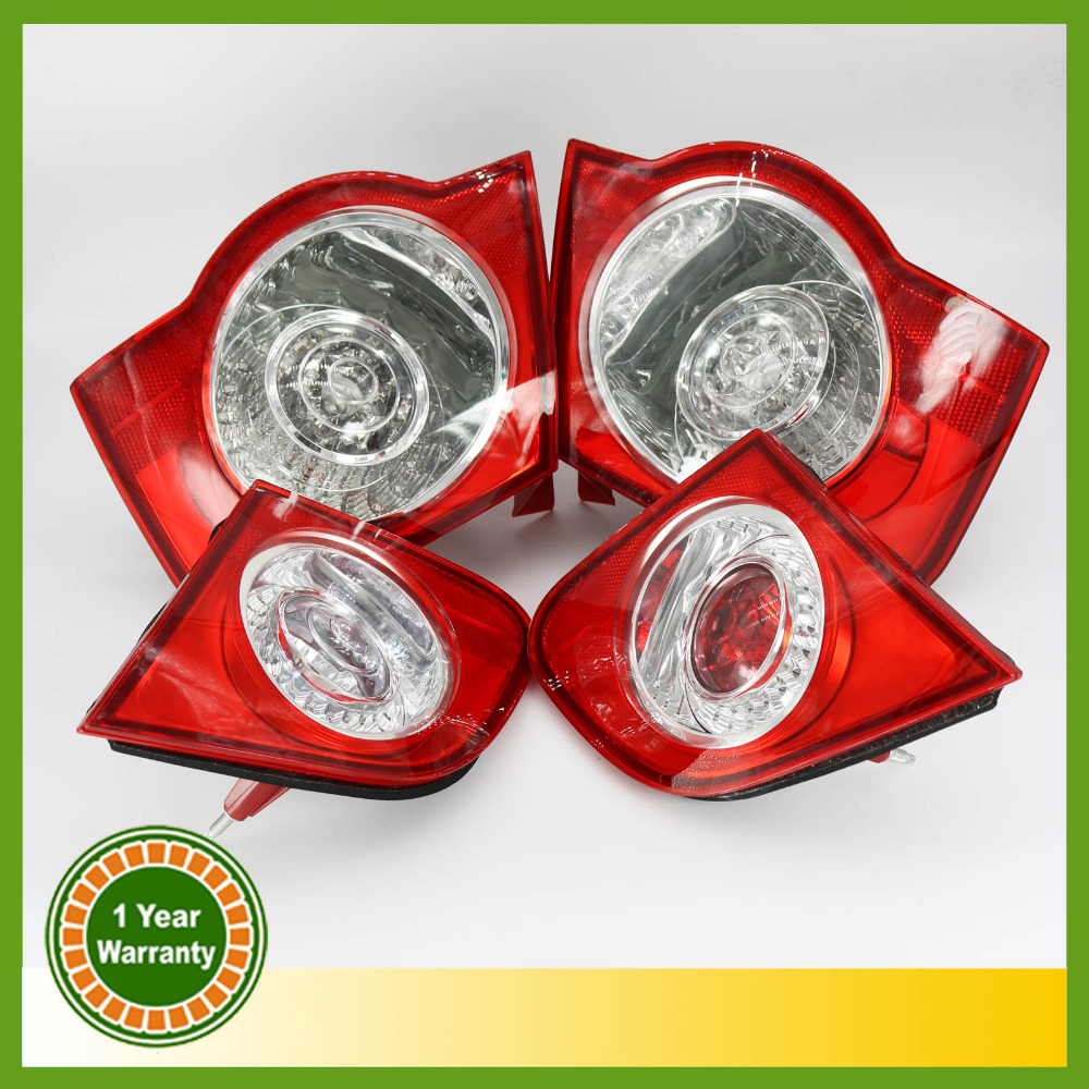 For VW Passat B6 Sedan 2006 2007 2008 2009 2010 2011 LED Rear Tail Light Lamp Left-hand Trafic Only free shipping for skoda octavia sedan a5 2005 2006 2007 2008 left side rear lamp tail light