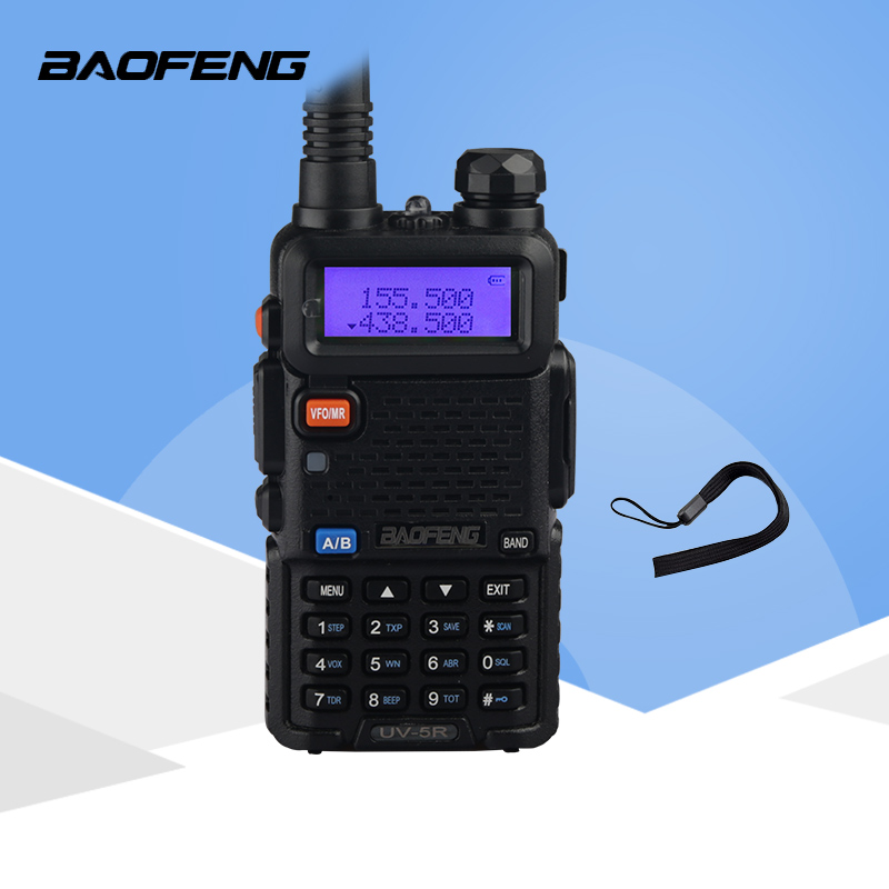 Radio portatile Baofeng UV-5R 5 W Walkie Talkie UV5R Dual Band Palmare Radio Bidirezionale Pofung UV 5R Walkie -Talkie Per La Caccia