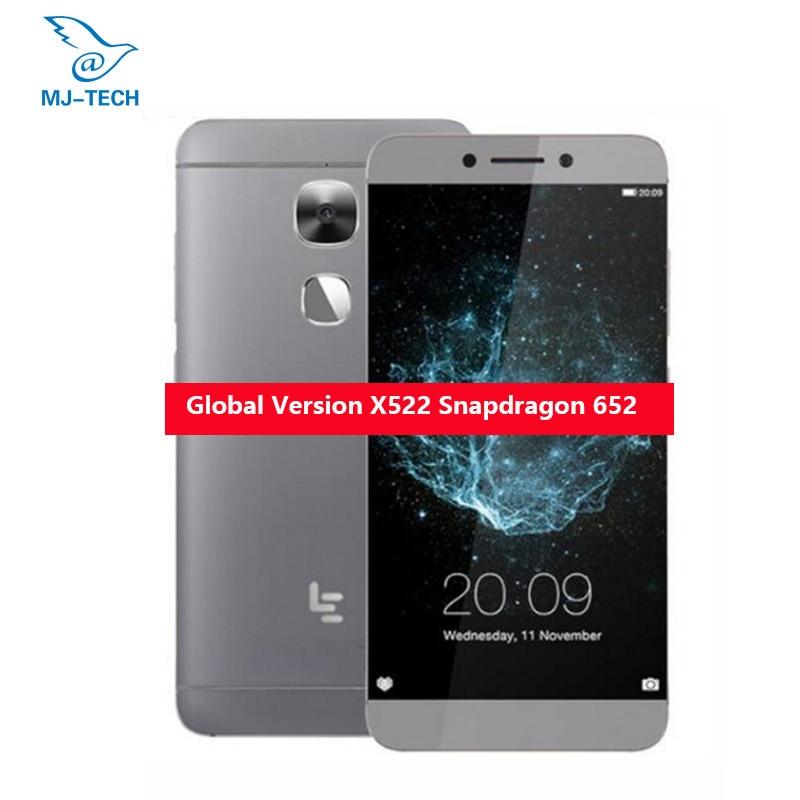 Глобальная версия LeEco LeTV Le S3 X522 3g 32 г Snapdragon 652 1,8 ГГц Восьмиядерный 5,5 дюймов Android 6,0 4G LTE Мобильного Телефона