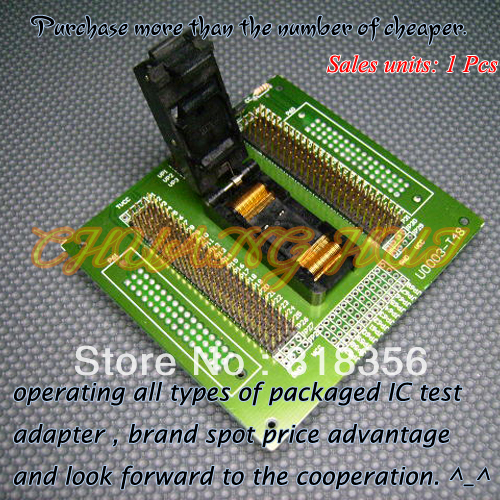 U0003-T48 Programmer Adapter TSOP48 IC Test Socket raffaello t48