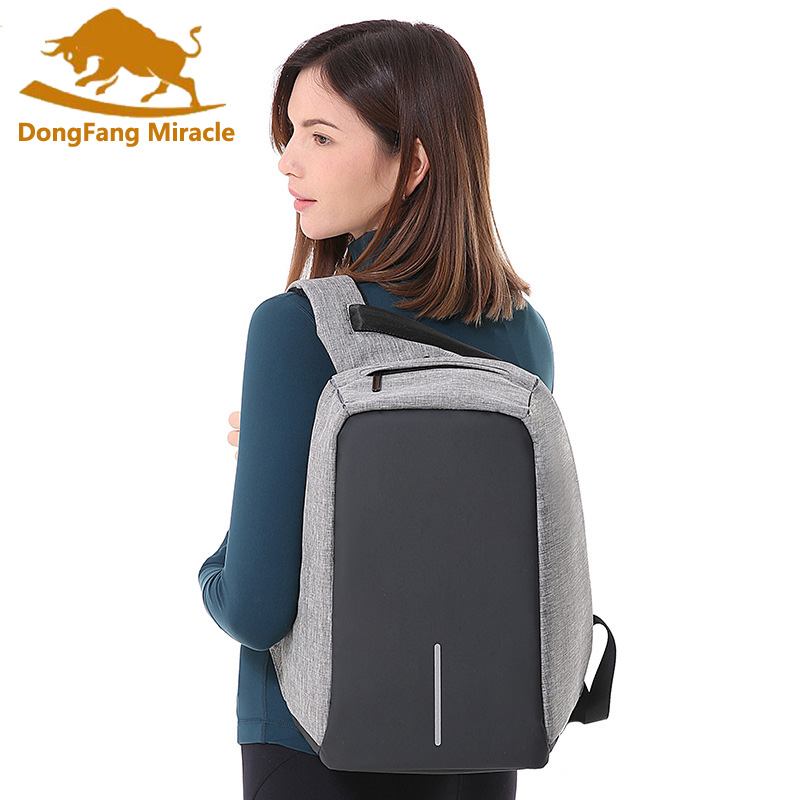 Anti-theft Backpack USB Charging Men Laptop Backpacks For Women and Male Mochila Waterproof Travel Backpack School Bag sopamey usb charge men anti theft travel backpack 16 inch laptop backpacks for male waterproof school backpacks bags wholesale