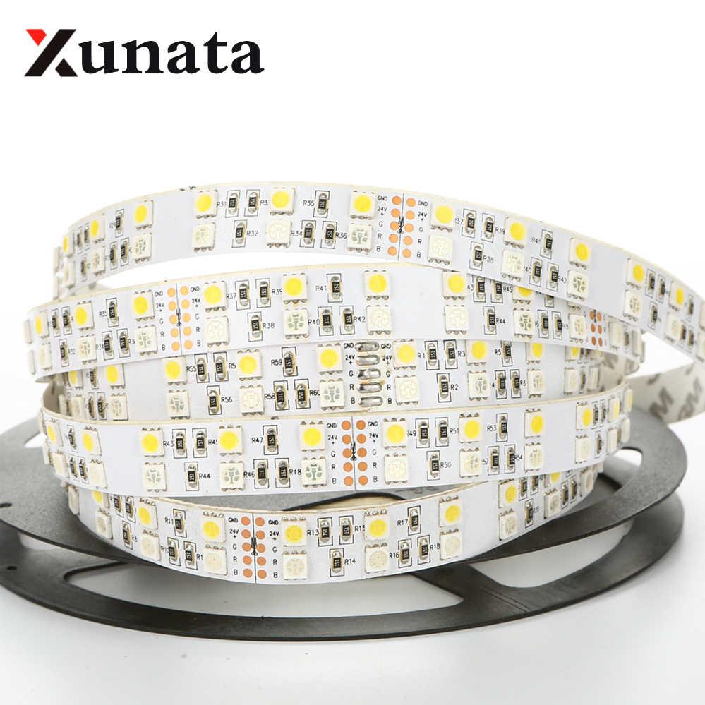 5M LED Streifen-Licht Stripe Band 5050 SMD 300 LED RGB Wasserdicht DC 12V 24V