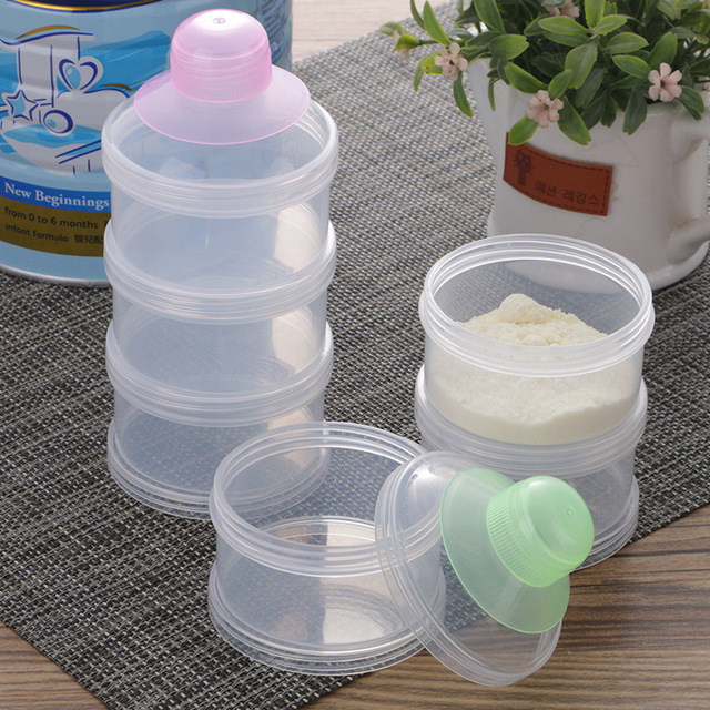 Portable Grid Baby Powder Dispenser