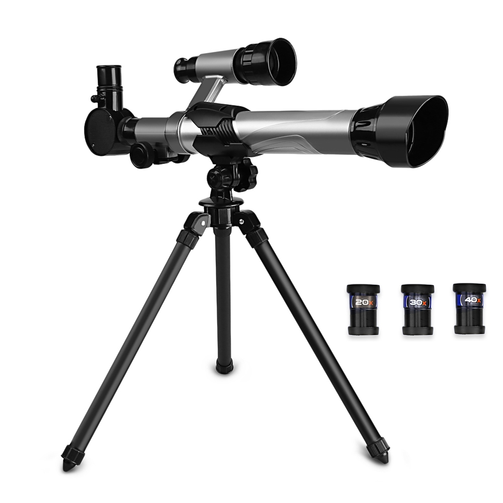 купить Children Astronomy Telescope Search Stars Observed Universe Compass Tripod Lab Instruments Science Educational Toys Kids Gift