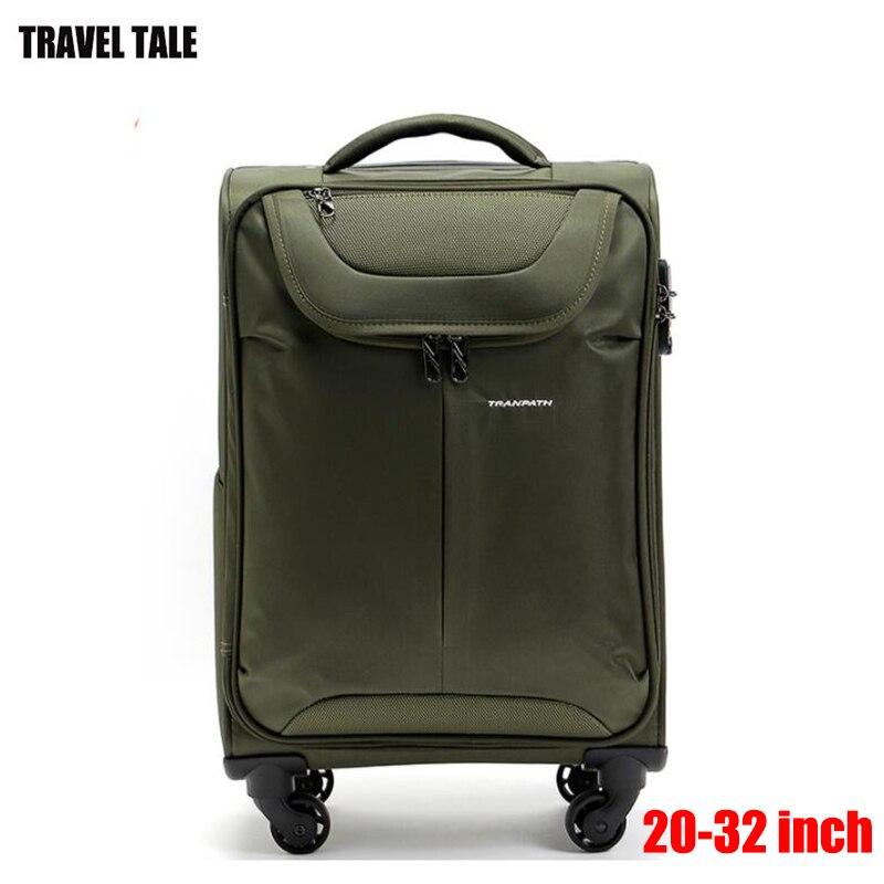 Bagaj ve Çantalar'ten Tekerlekli Bagaj'de SEYAHAT MASALı 32 inç tuval arabası bavul süper hafif büyük kapasiteli seyahat bagaj kutusu'da  Grup 1