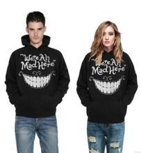 2019 Couple Hoodies Sweatshirt hoodie Men Women 3D Stripe Splicing Printed harajuku Style Streetwear