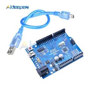 Image 5 - UNO R3 開発ボード ATMEGA328P 16AU CH340 CH340G マイクロ/ミニ/タイプ B USB ケーブル Arduino の Uno r3