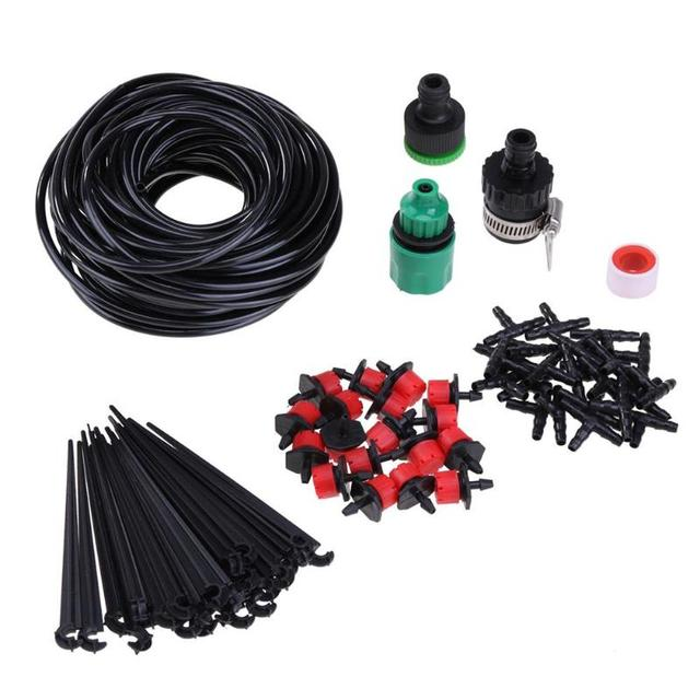 25m Micro Sprinkler Spray Cooling Automatic Watering Drip Irrigation ...