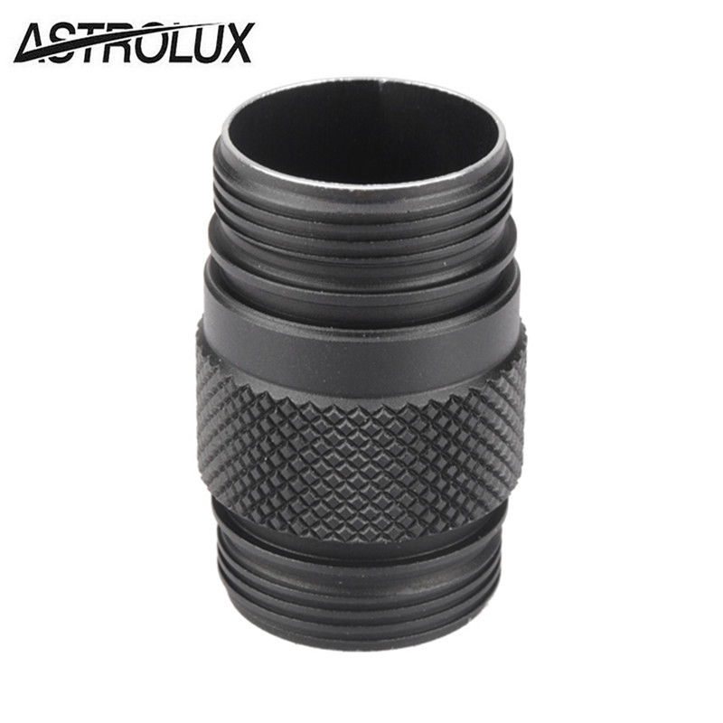 BLF A6/Astrolux S1 Flashlight 18350 Body Extension Tube 18350 Battery Extend Tube LED Flashlight Accessories