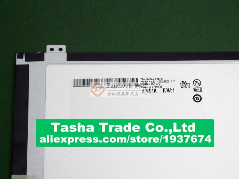 B140XW02 V.2  LCD Screen Display 1366*768 Original Good Quality B140XW02 V2B140XW02 V.2  LCD Screen Display 1366*768 Original Good Quality B140XW02 V2