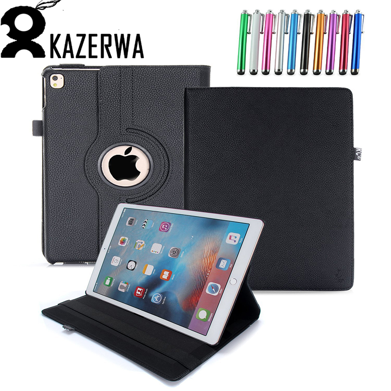 Case Cover for iPad Air 2 360 Rotation Flip PU Leather Stand Case for iPad 2017 Stand Funda Case for iPad 2017 Case leather case flip cover for letv leeco le 2 le 2 pro black