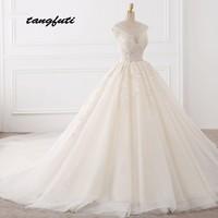 Lace Wedding Dresses Ball Gown Long Wedding Gowns Weding Bridal Bride Dresses Weddingdress vestidos de novia 2018 Vintage